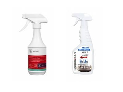 Mleczka i preparaty do czyszczenia
