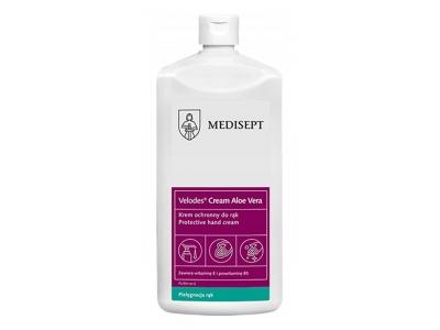 Krem ochronny do rąk z aloesem Medisept Velodes Cream Aloe Vera 500 ml