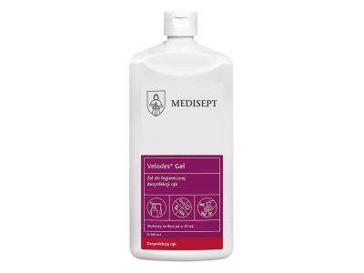 Gel do dezynfekcji rąk Medisept Velodes Gel  500 ml
