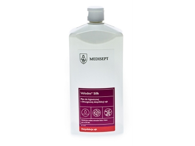 Płyn do dezynfekcji rąk Medisept Velodes Silk 1 L