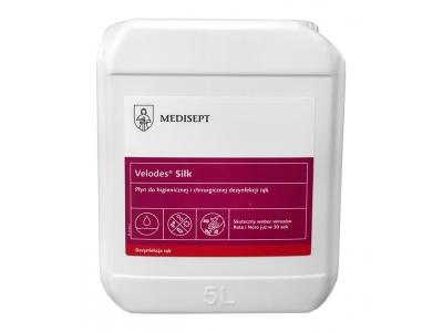 Płyn do dezynfekcji rąk Medisept Velodes Silk 5 L