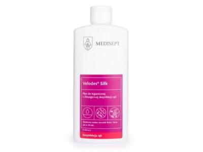 Płyn do dezynfekcji rąk Medisept Velodes Silk 500 ml